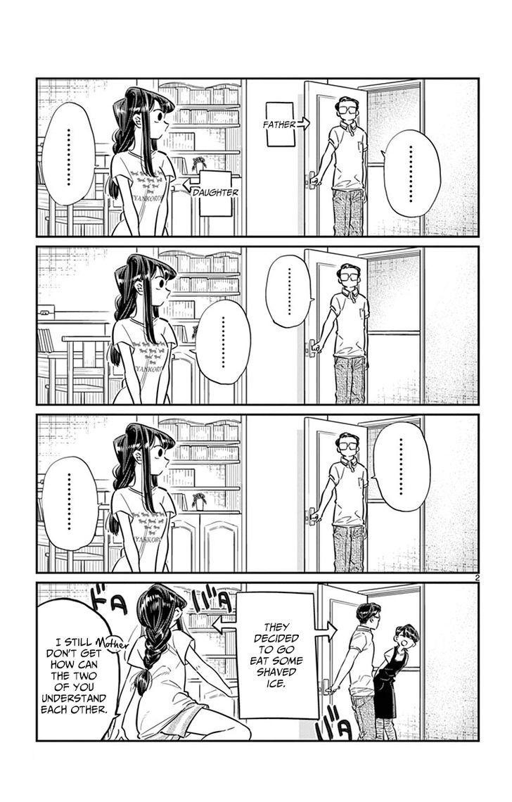 Komi-San Wa Komyushou Desu Vol.3 Chapter 42: Shaved Ice page 2 - Mangakakalot