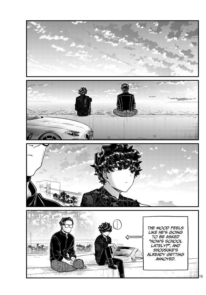 Komi-San Wa Komyushou Desu Chapter 215: A Day Of A Father And Son page 15 - Mangakakalot