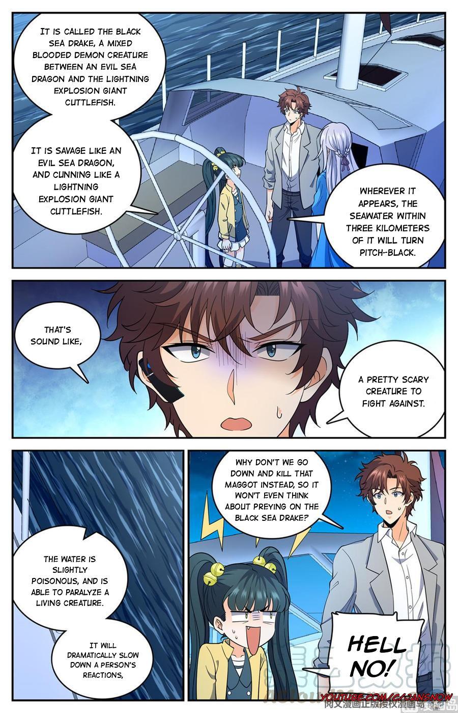Versatile Mage Chapter 648 page 10 - Mangakakalots.com