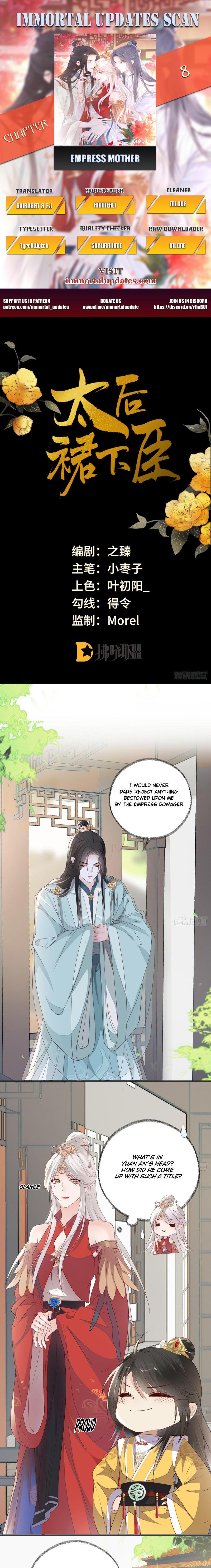 Empress Mother Chapter 8 page 1 - Mangakakalots.com