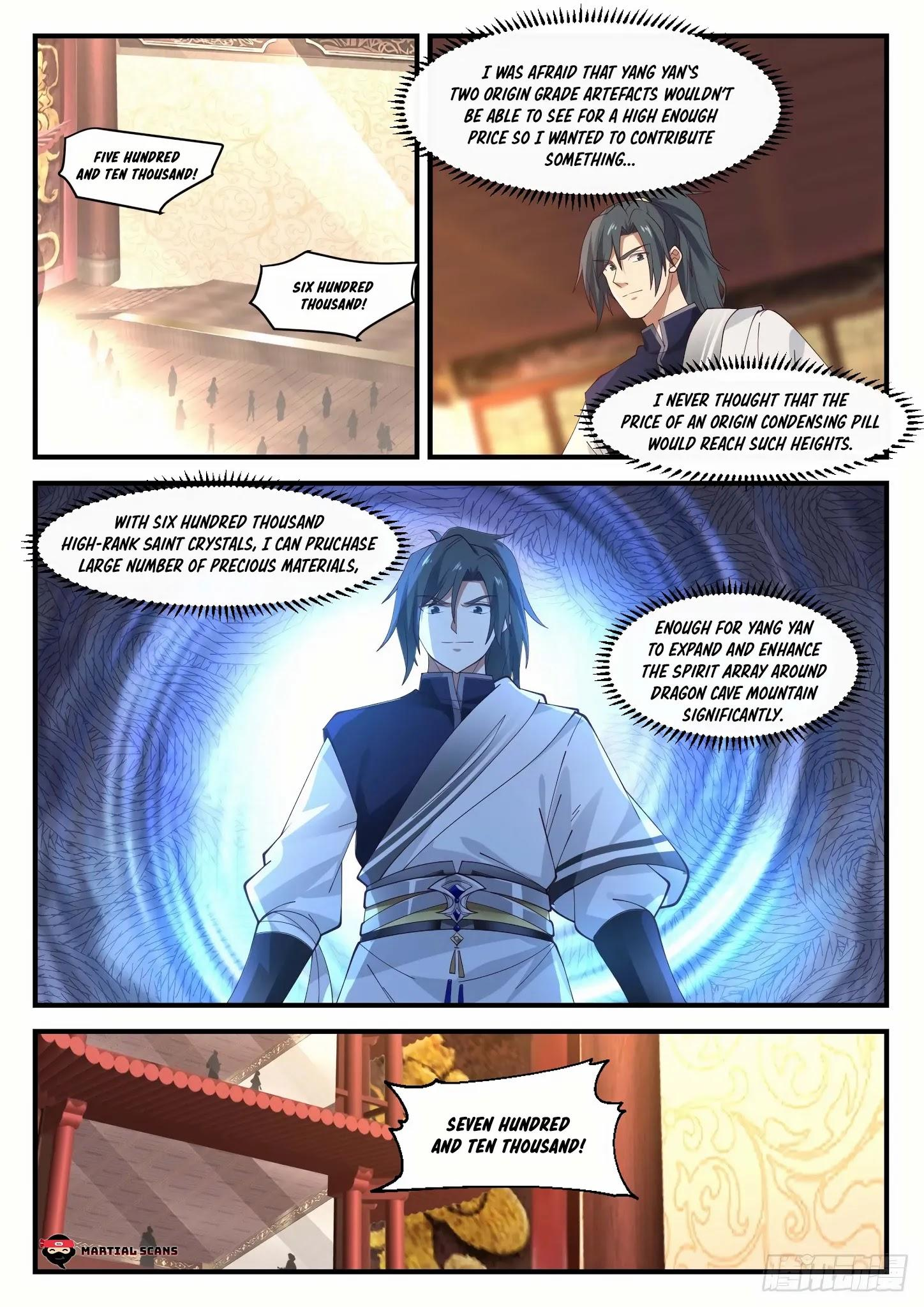 Martial Peak Chapter 1055: Filthy Rich page 3 - Mangakakalots.com