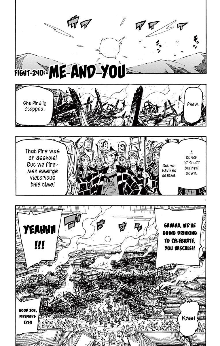 Joujuu Senjin!! Mushibugyo Vol.25 Chapter 240: Me And You page 1 - Mangakakalots.com