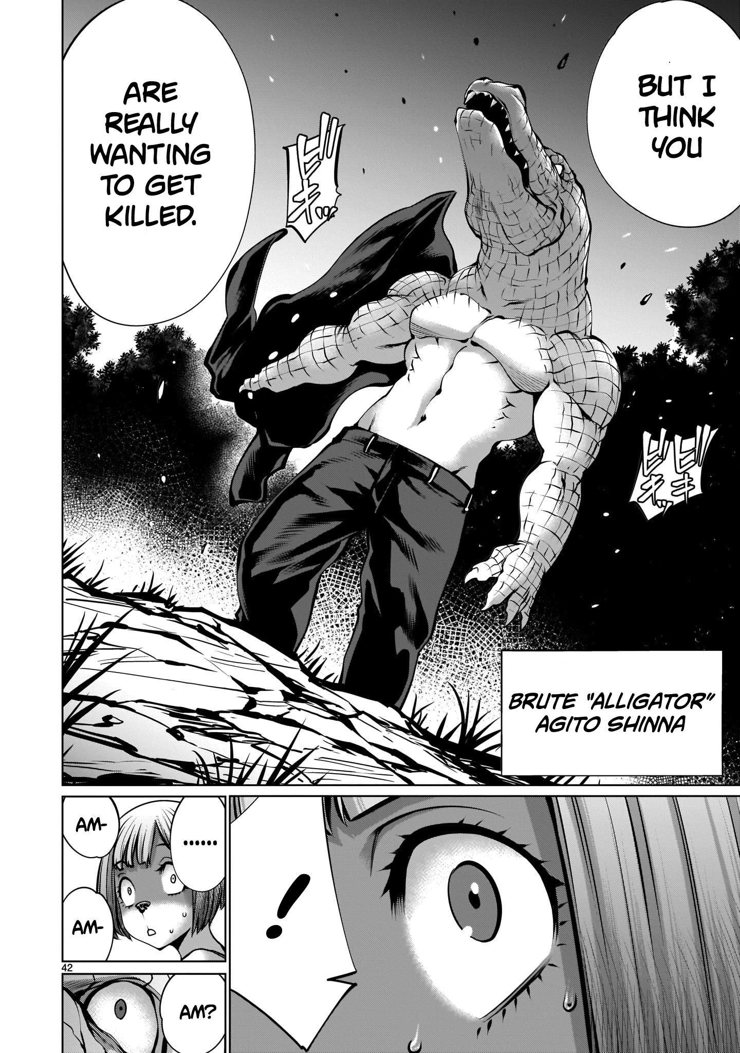 "Killing Bites Chapter 88: ""honestly, I'm Disappointed..."" page 41 - Mangakakalots.com"