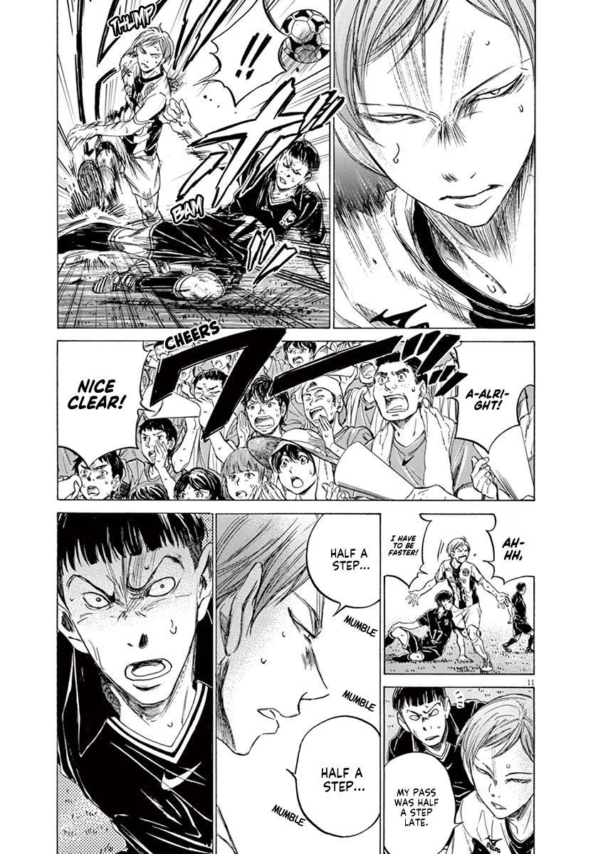 Ao Ashi Vol.13 Chapter 129: Keep One's Word page 12 - Mangakakalots.com
