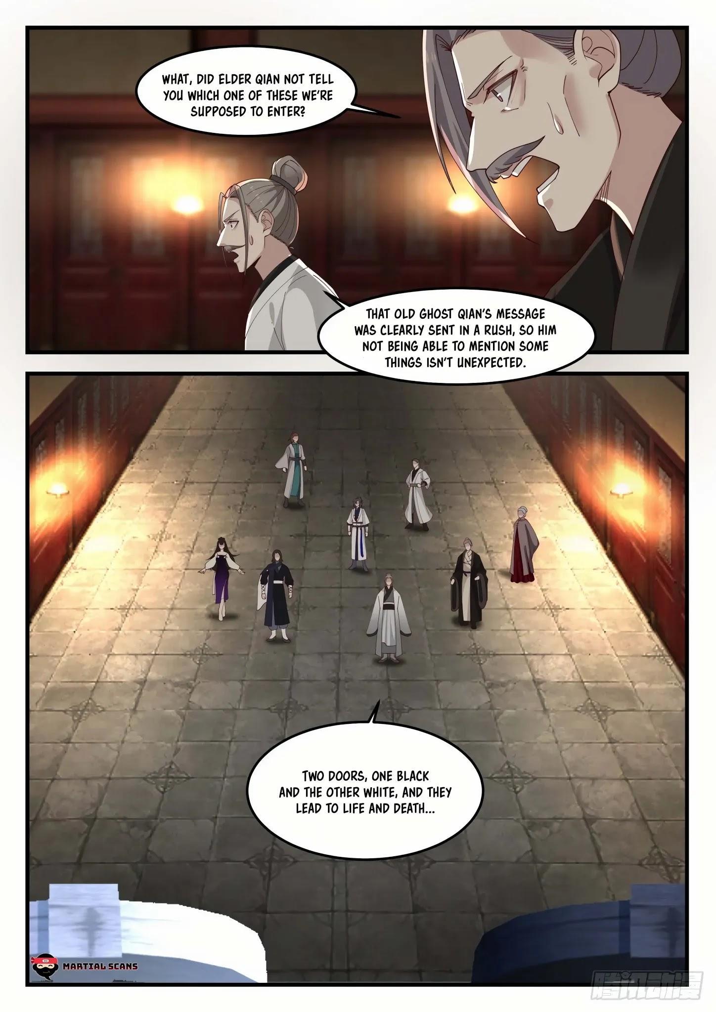 Martial Peak Chapter 1249: Space Array Gate page 8 - Mangakakalots.com