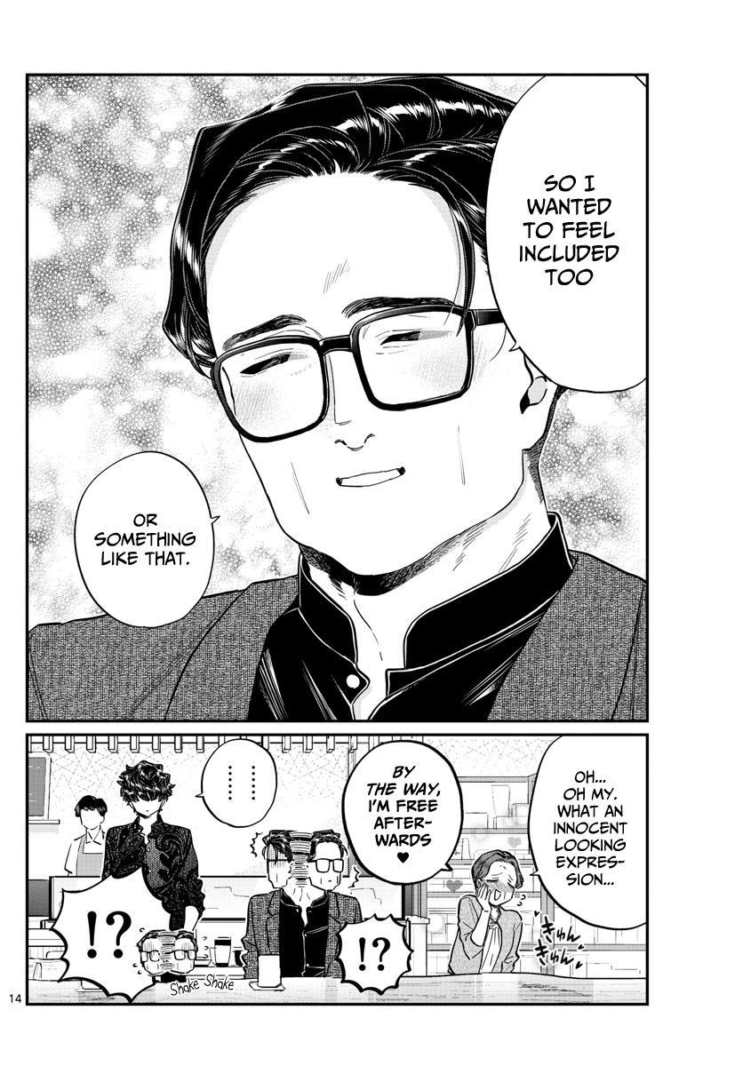 Komi-San Wa Komyushou Desu Chapter 215: A Day Of A Father And Son page 14 - Mangakakalot