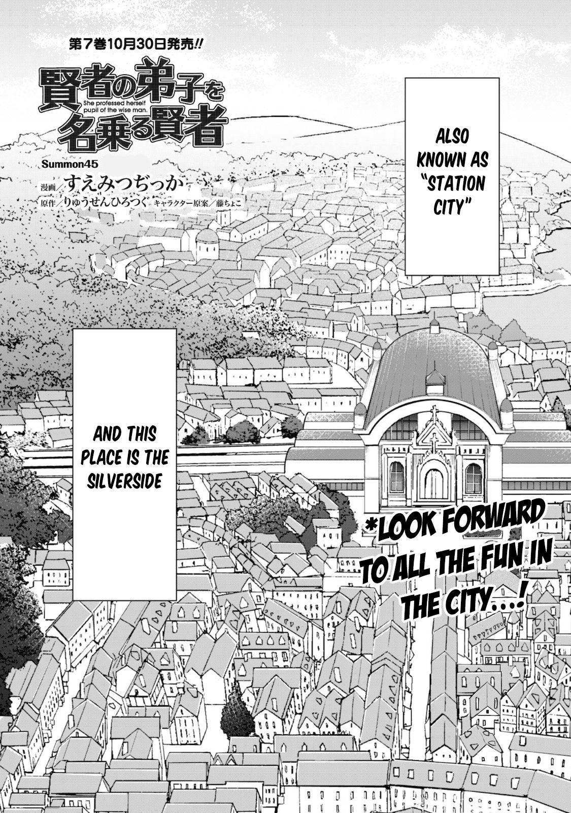 Kenja No Deshi Wo Nanoru Kenja Chapter 45 page 2 - Mangakakalots.com
