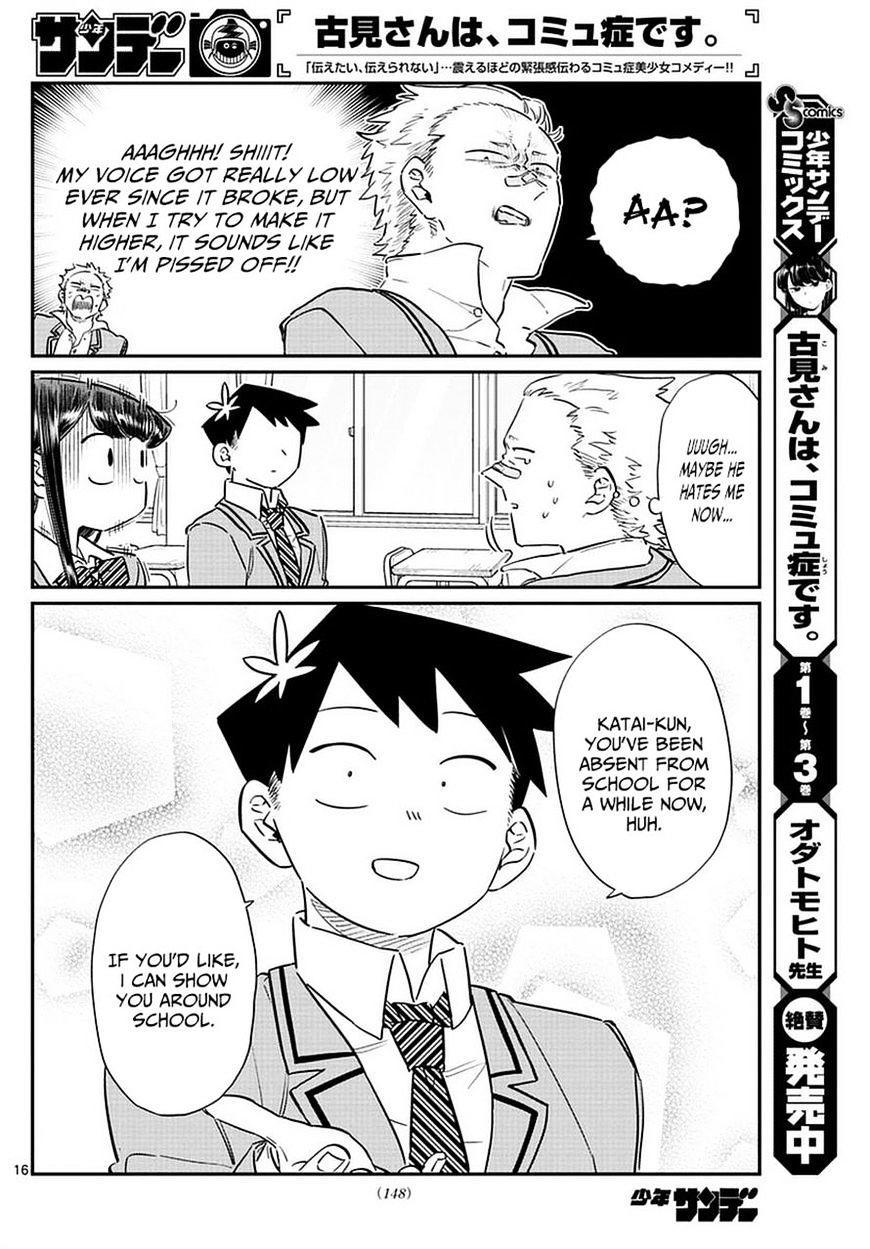 Komi-San Wa Komyushou Desu Vol.6 Chapter 76: A Delinquent page 16 - Mangakakalot