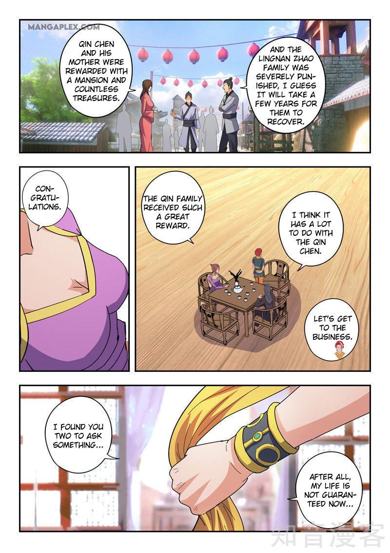 Martial Master Chapter 463: It's Risky page 7 - Mangakakalots.com