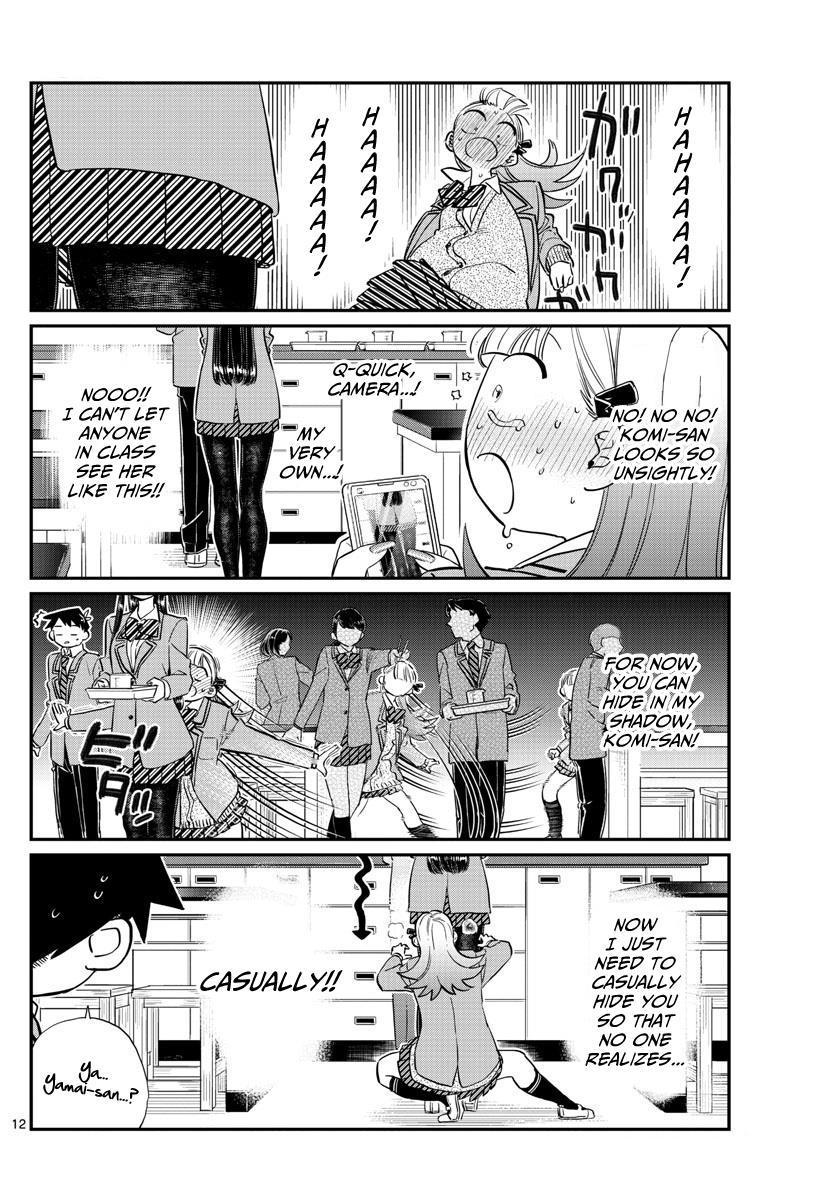 Komi-San Wa Komyushou Desu Vol.9 Chapter 120: Stocking Tear page 3 - Mangakakalot