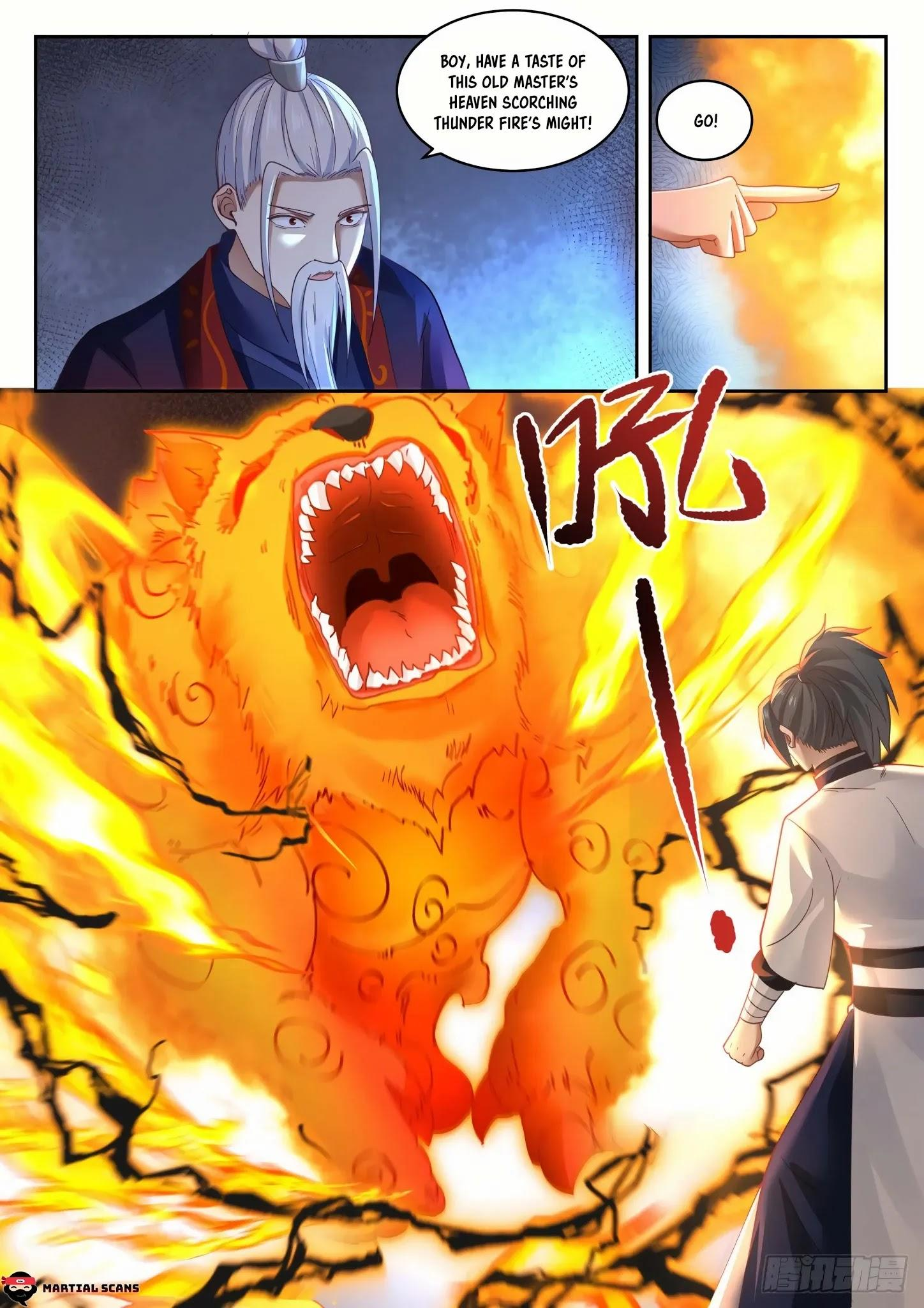 Martial Peak Chapter 1313: Heaven Scorching Thunder Fire page 8 - Mangakakalots.com