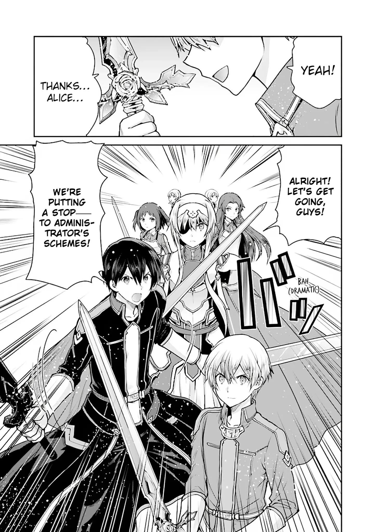 Sword Art Online - Lycoris Chapter 16: ~Epilogue~ That Which Is Passed Down page 19 - Mangakakalots.com
