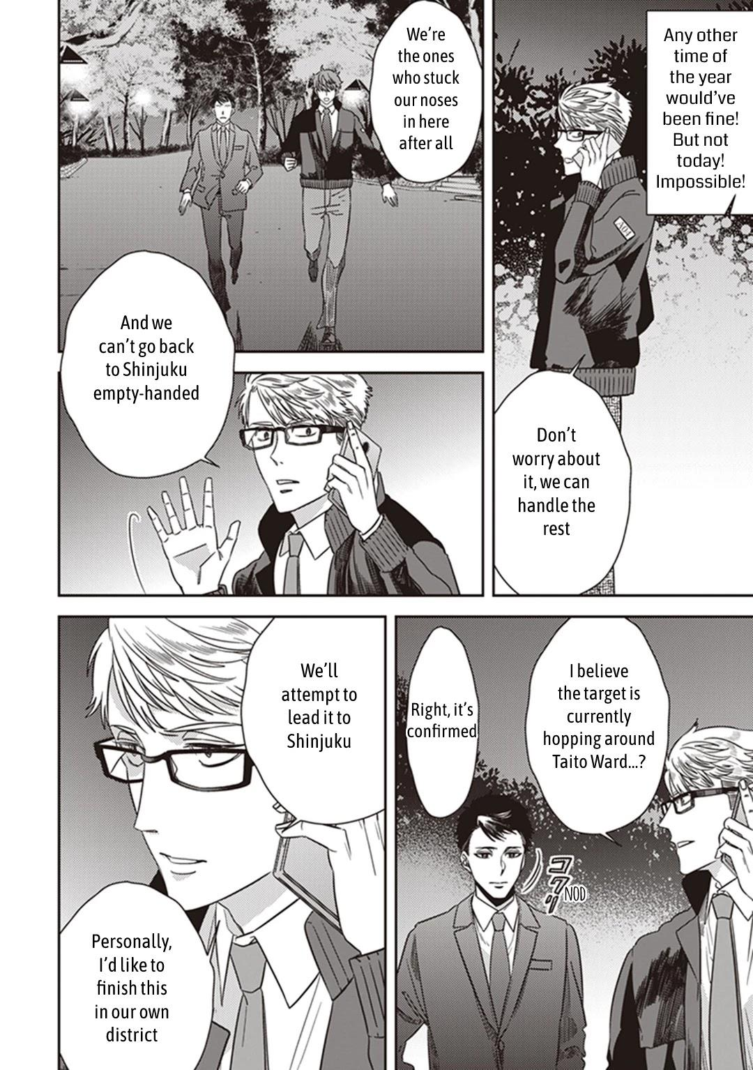 Midnight Occult Civil Servants Chapter 38: Becoming A Demon (Part 4) page 8 - Mangakakalots.com