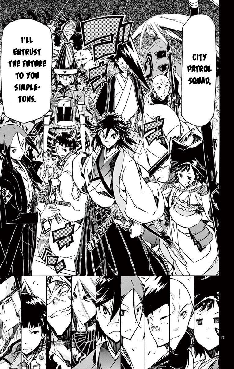 Joujuu Senjin!! Mushibugyo Vol.25 Chapter 240: Me And You page 17 - Mangakakalots.com