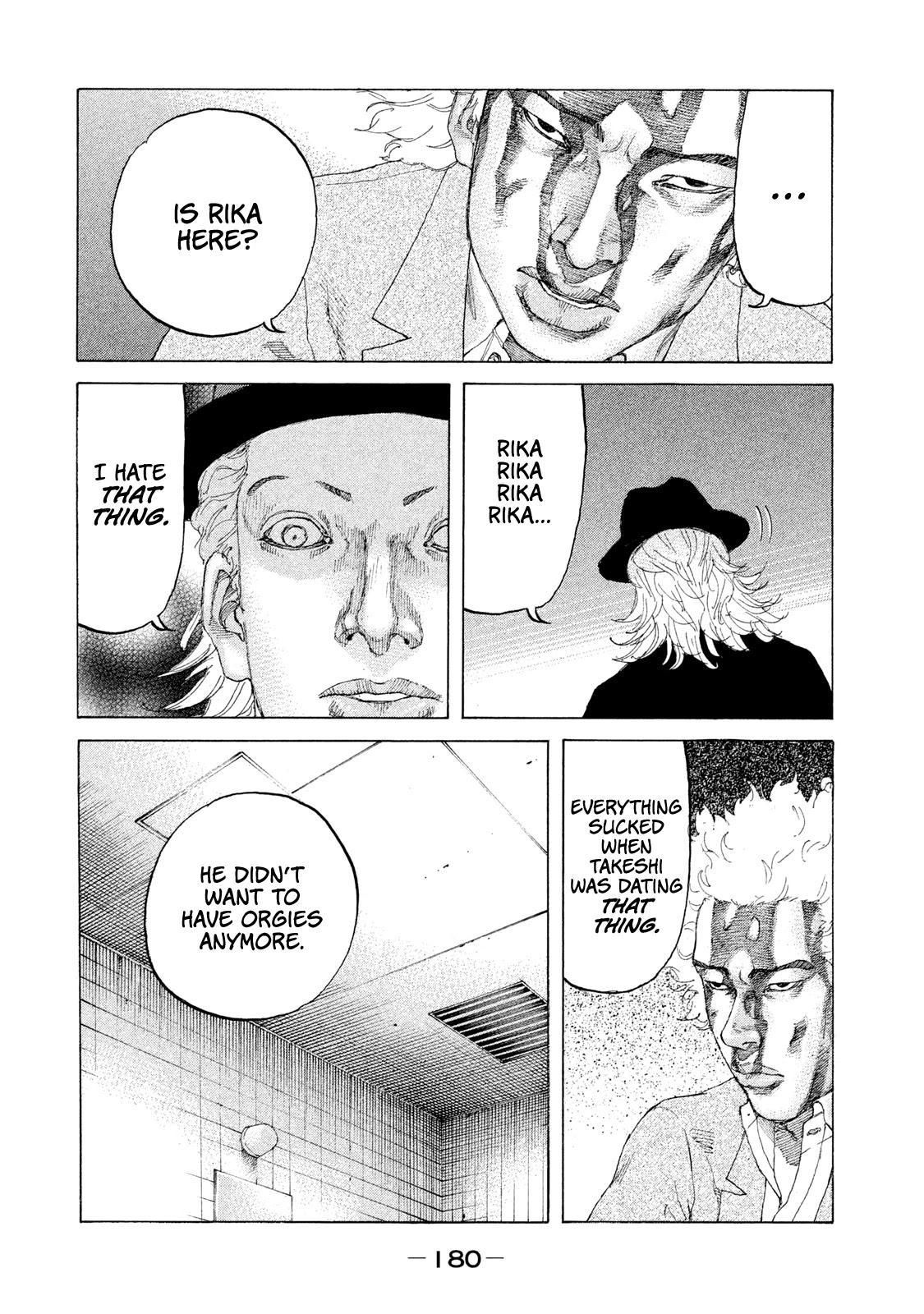 Shinjuku Swan Chapter 212: Fetish page 14 - Mangakakalots.com