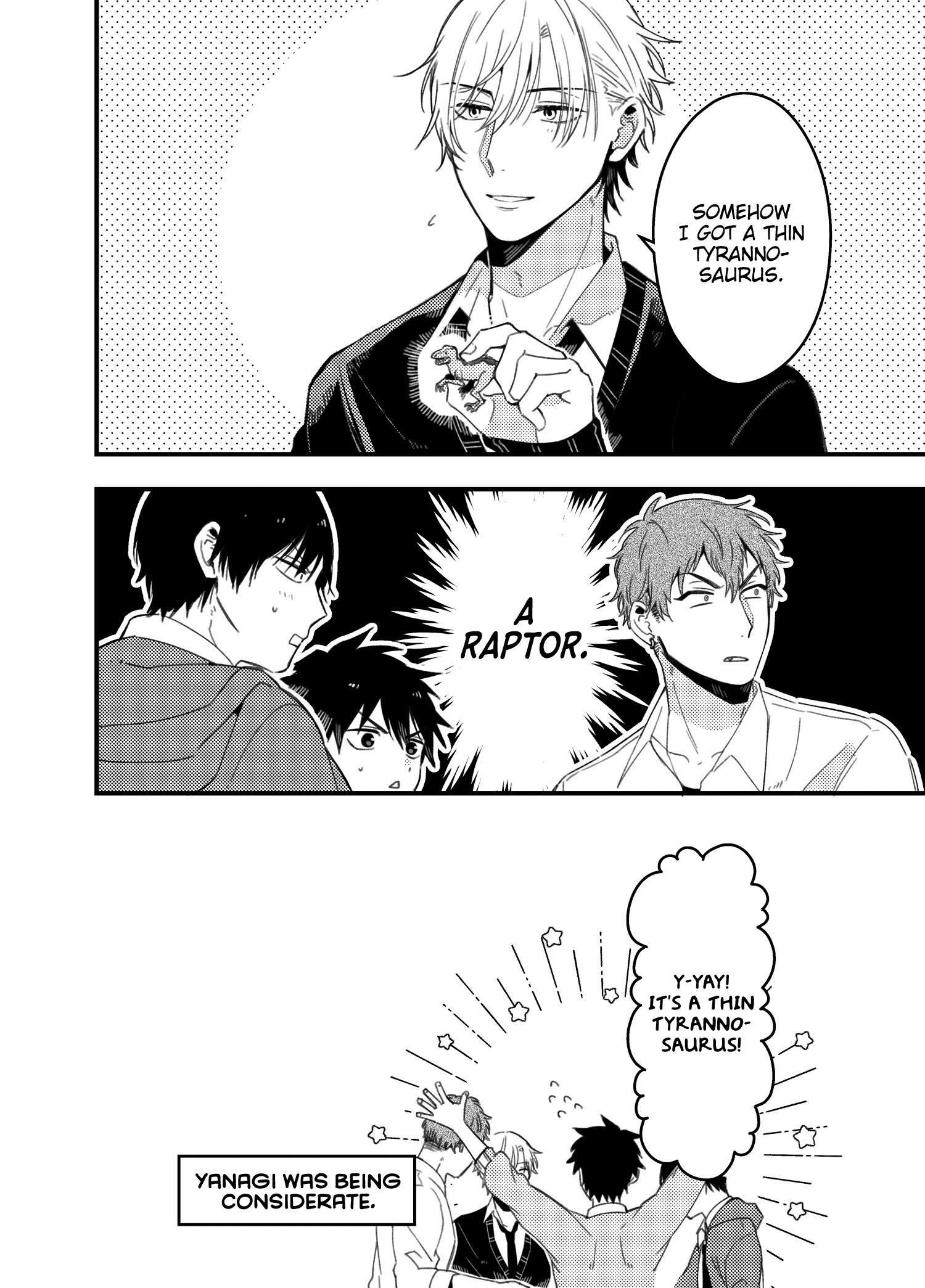 A World Where Everything Definitely Becomes Bl Vs. The Man Who Definitely Doesn't Want To Be In A Bl Volume 2 Chapter 35.6 : Twitter Comics page 19 - Mangakakalots.com