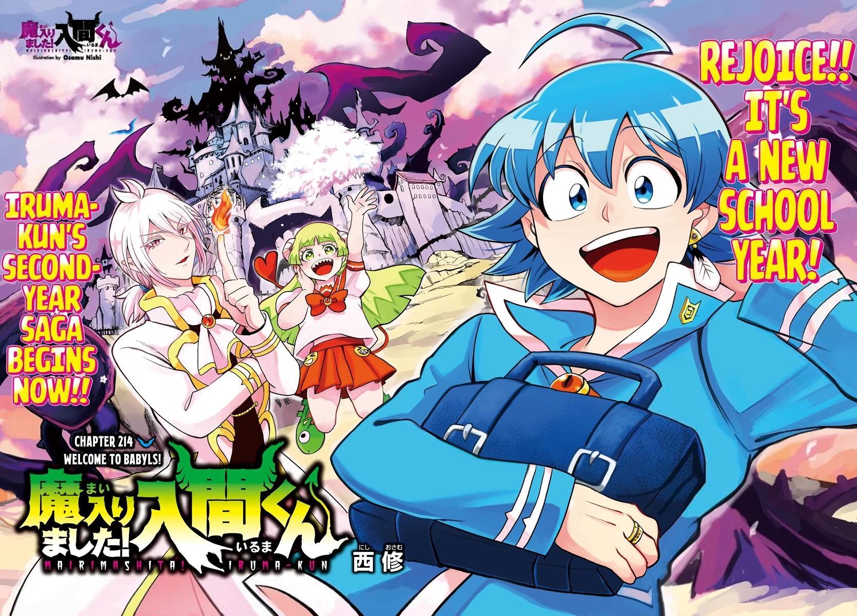 Mairimashita! Iruma-Kun Chapter 214: Welcome To Babyls! page 3 - Mangakakalots.com