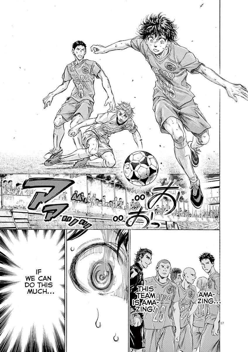 Ao Ashi Vol.16 Chapter 162: Running To The Next Stage page 18 - Mangakakalots.com