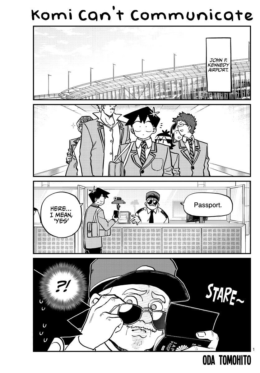 Komi-San Wa Komyushou Desu Chapter 279: America page 1 - Mangakakalot