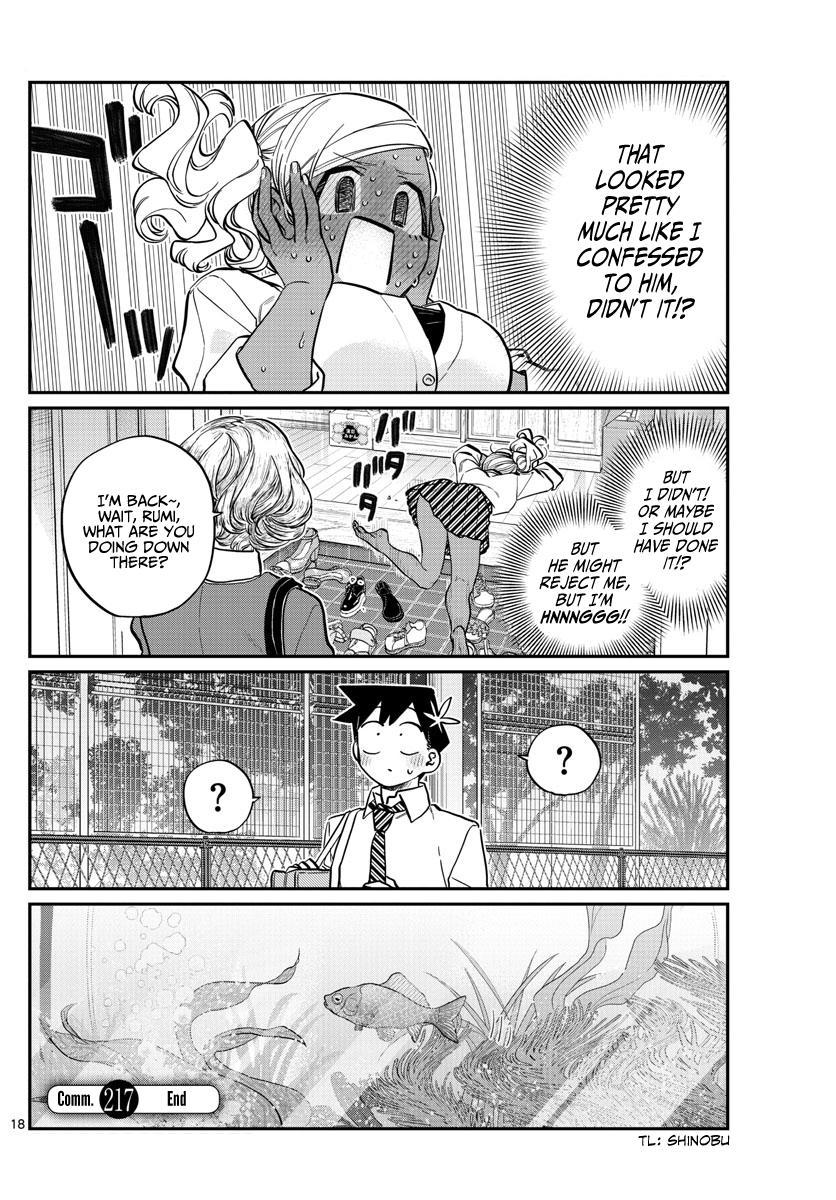 Komi-San Wa Komyushou Desu Chapter 217: Goldfish page 18 - Mangakakalot