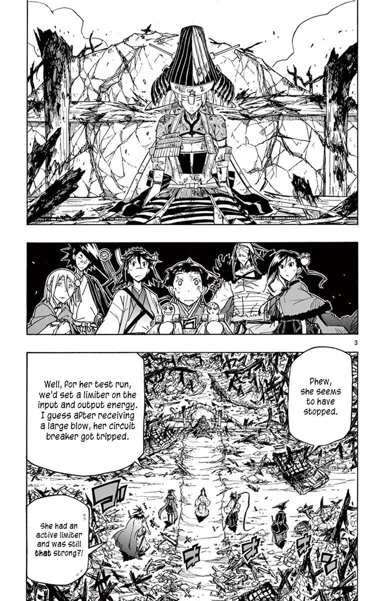 Joujuu Senjin!! Mushibugyo Vol.25 Chapter 240: Me And You page 3 - Mangakakalots.com