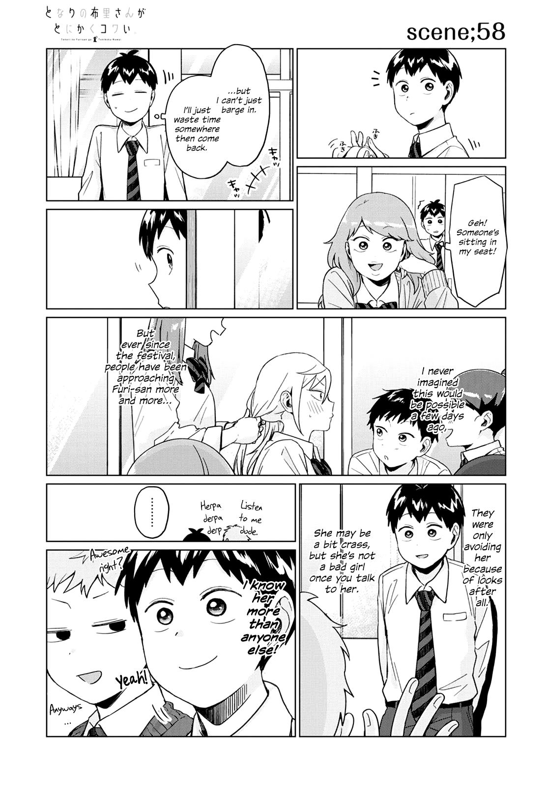 Tonari No Furi-San Ga Tonikaku Kowai Chapter 22 page 3 - Mangakakalots.com