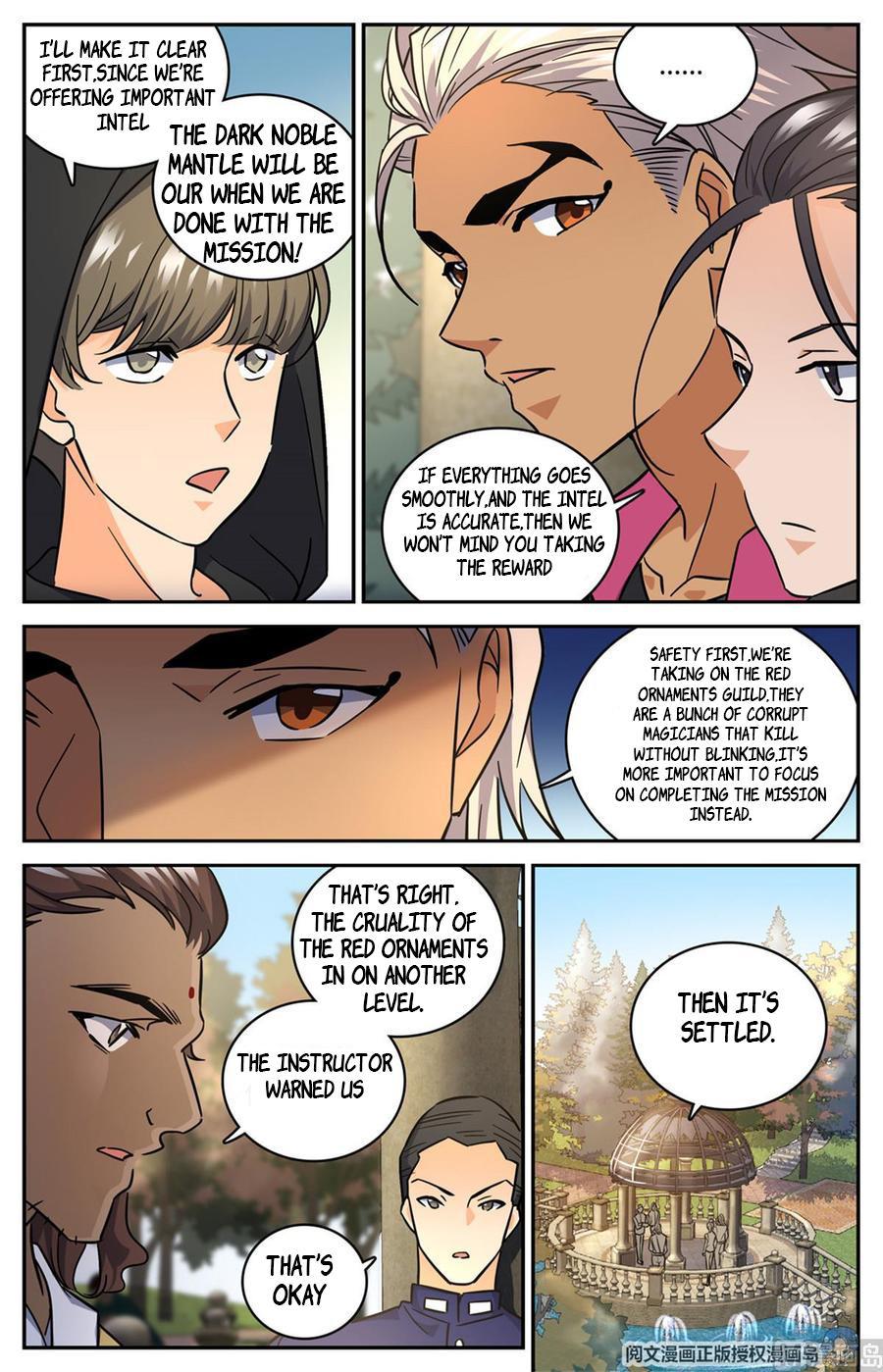 Versatile Mage Chapter 620 page 6 - Mangakakalots.com
