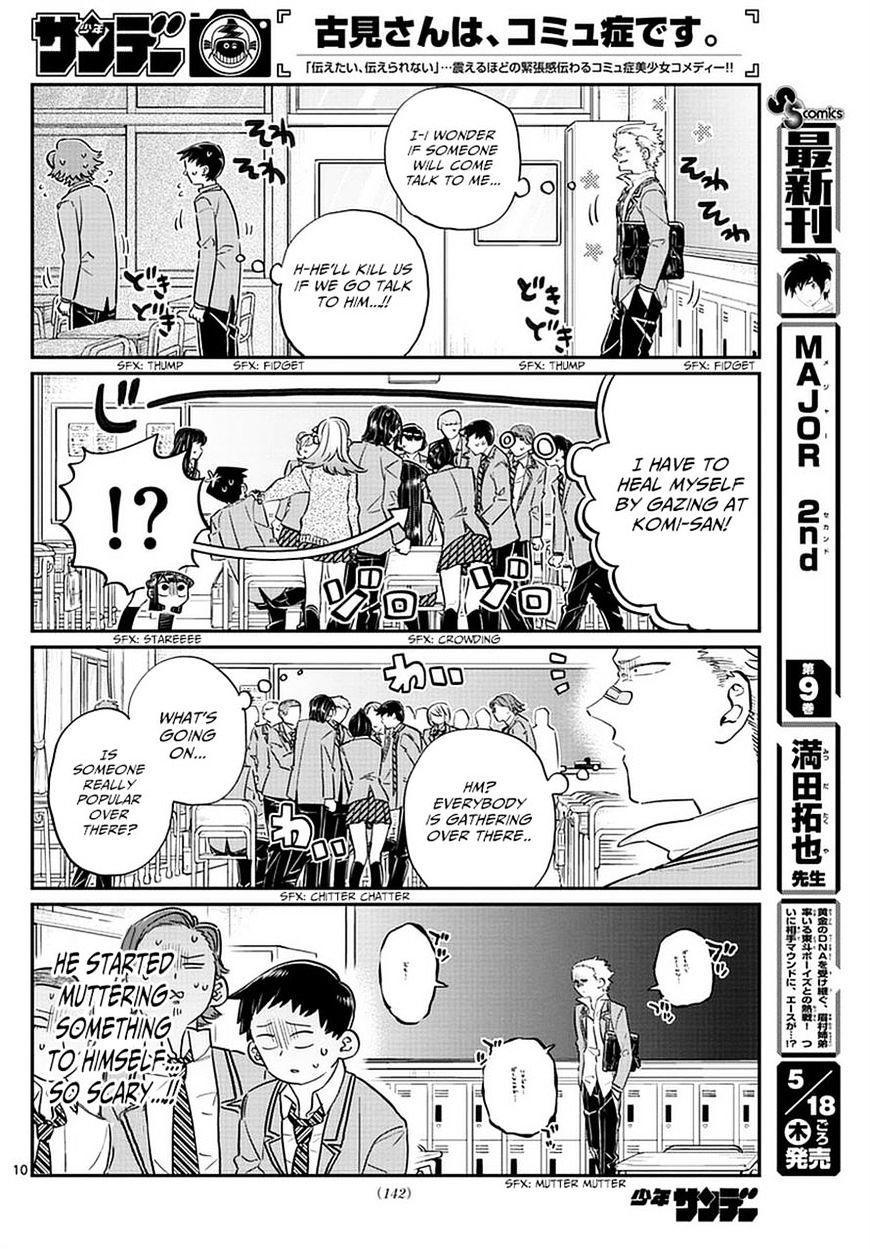 Komi-San Wa Komyushou Desu Vol.6 Chapter 76: A Delinquent page 10 - Mangakakalot