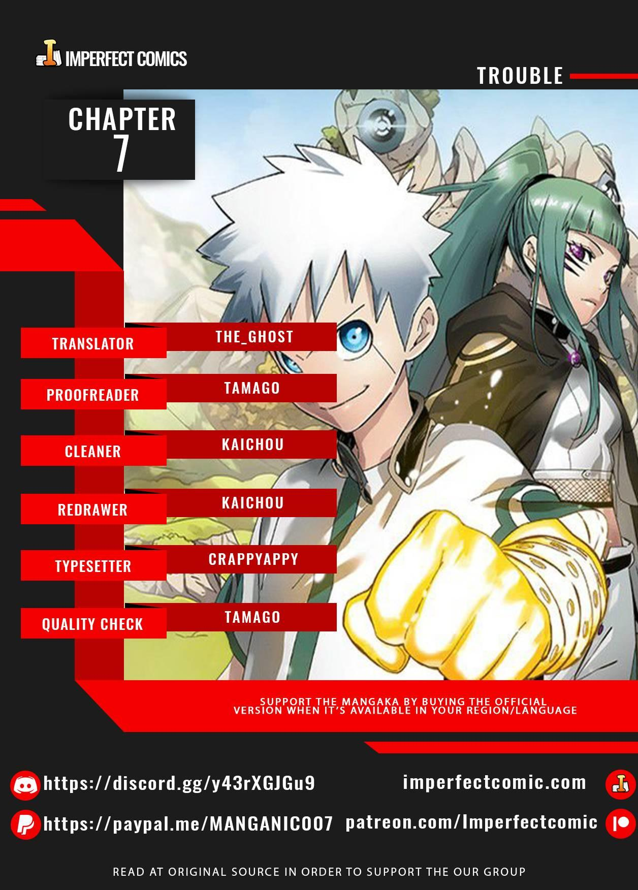 Trouble Chapter 7 page 1 - Mangakakalots.com
