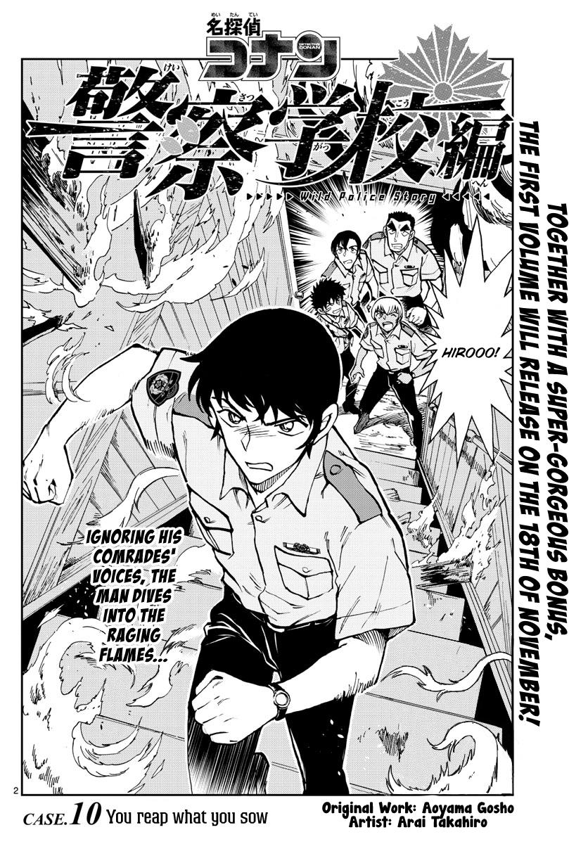 Wild Police Story Chapter 10: You Reap What You Sow page 2 - Mangakakalots.com