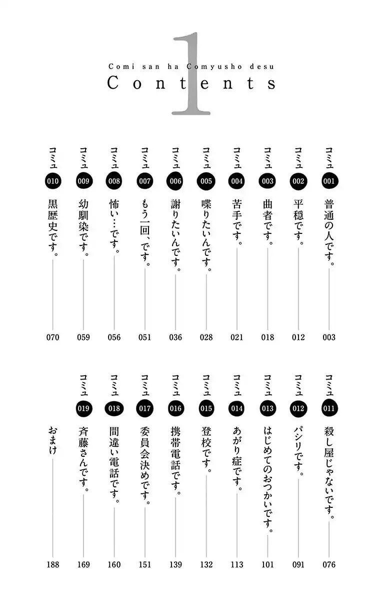 Komi-San Wa Komyushou Desu Vol.1 Chapter 1: A Normal Person page 4 - Mangakakalot