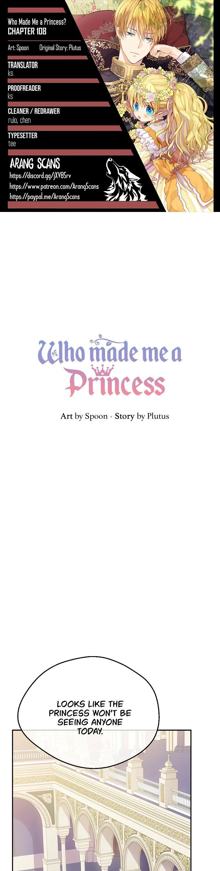 Who Made Me A Princess Chapter 108 page 1 - Mangakakalot
