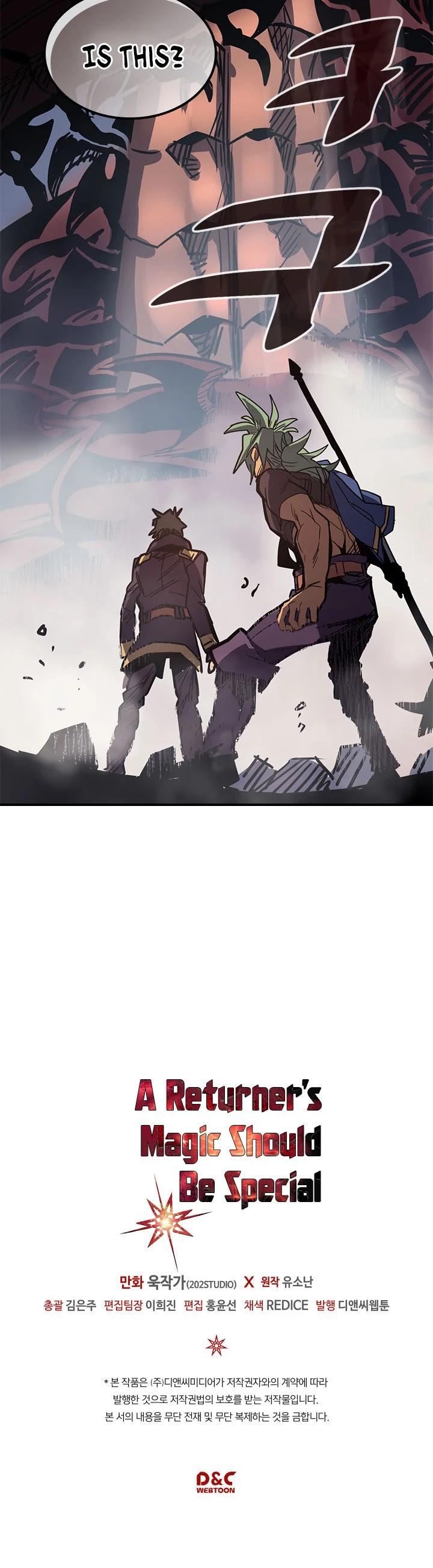A Returner's Magic Should Be Special Chapter 110 page 46 - Mangakakalots.com