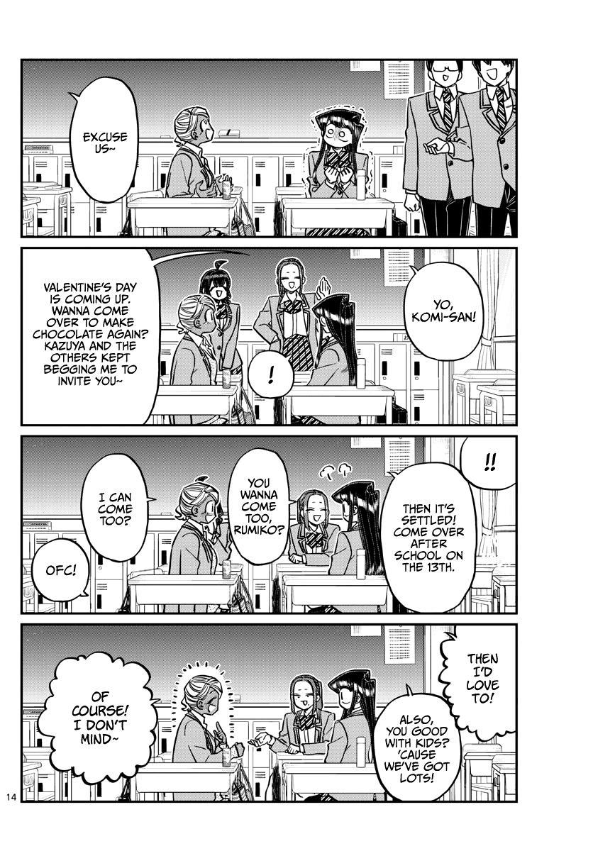 Komi-San Wa Komyushou Desu Chapter 298 page 14 - Mangakakalot