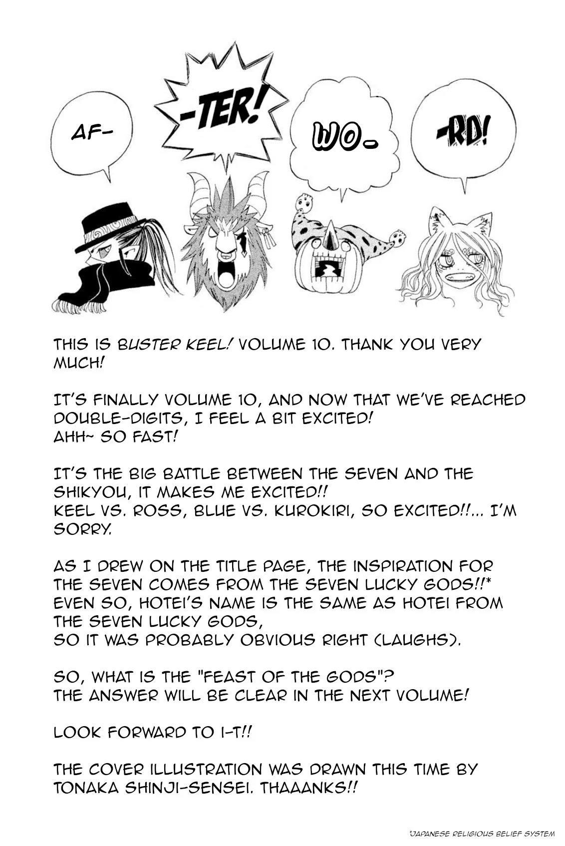 Buster Keel! Chapter 39: Feast Of God (Part 4) page 45 - Mangakakalots.com