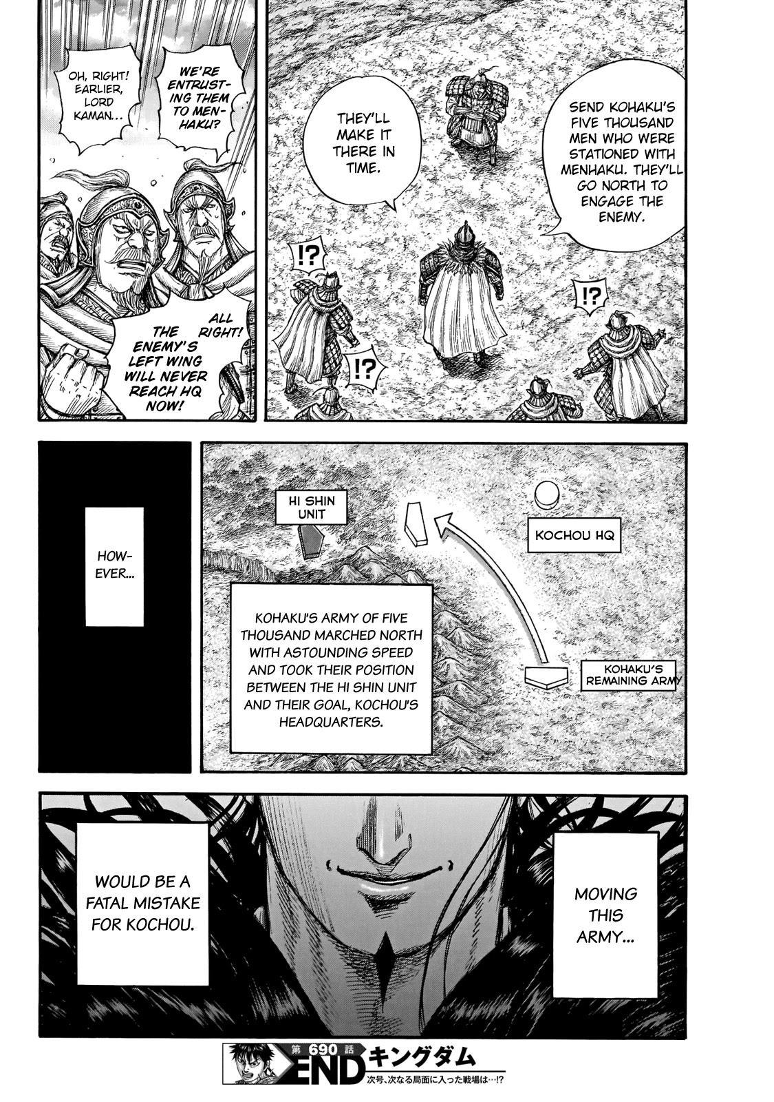 Kingdom Chapter 690: According To Plan page 20 - Mangakakalot