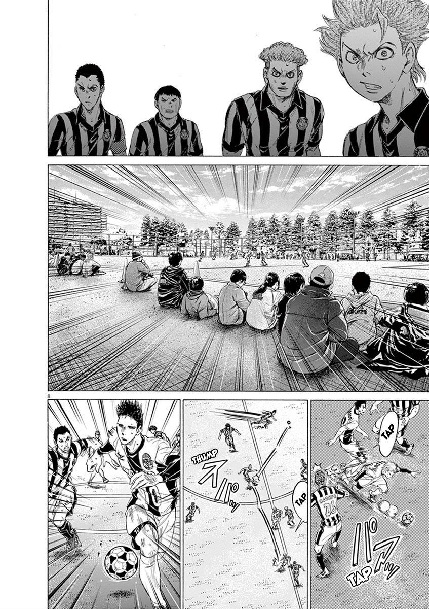 Ao Ashi Vol.18 Chapter 184: Takasugi And Resolute Solidarity page 8 - Mangakakalots.com