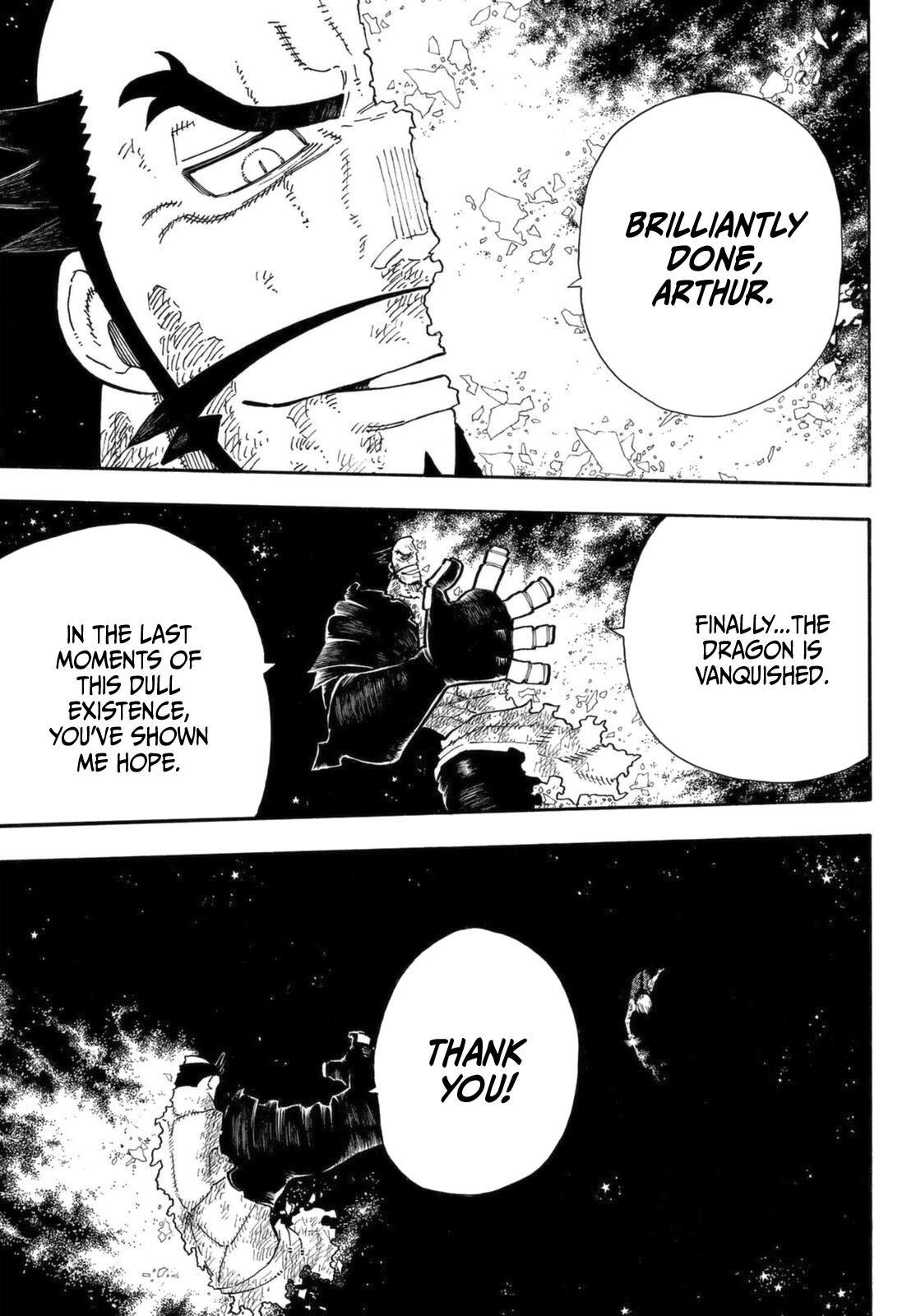 Enen No Shouboutai Chapter 272: The Knight King page 8 - Mangakakalots.com