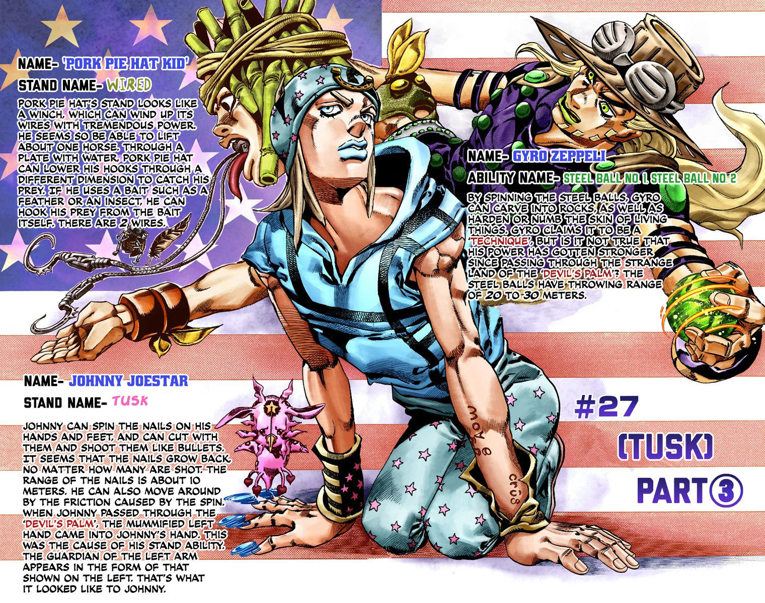 Jojo's Bizarre Adventure Part 20   Steel Ball Run Chapter 220   Read ...
