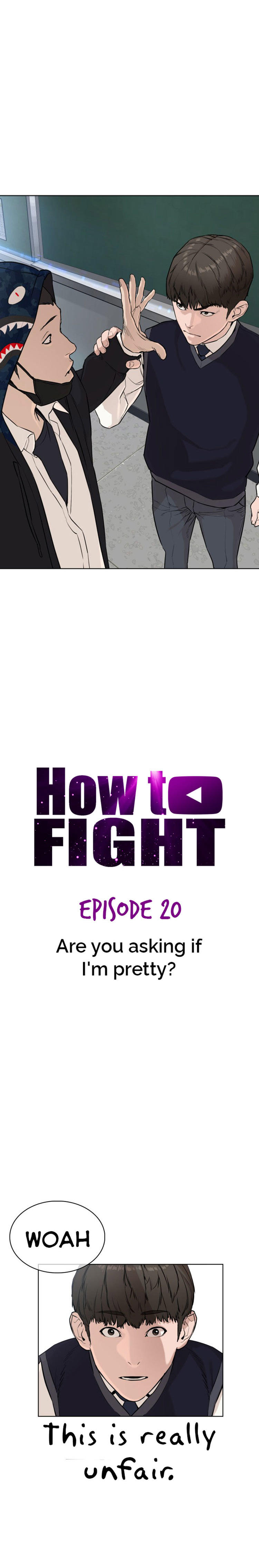 How To Fight Chapter 20: Are You Asking If I'm Pretty? page 15 - Mangakakalots.com
