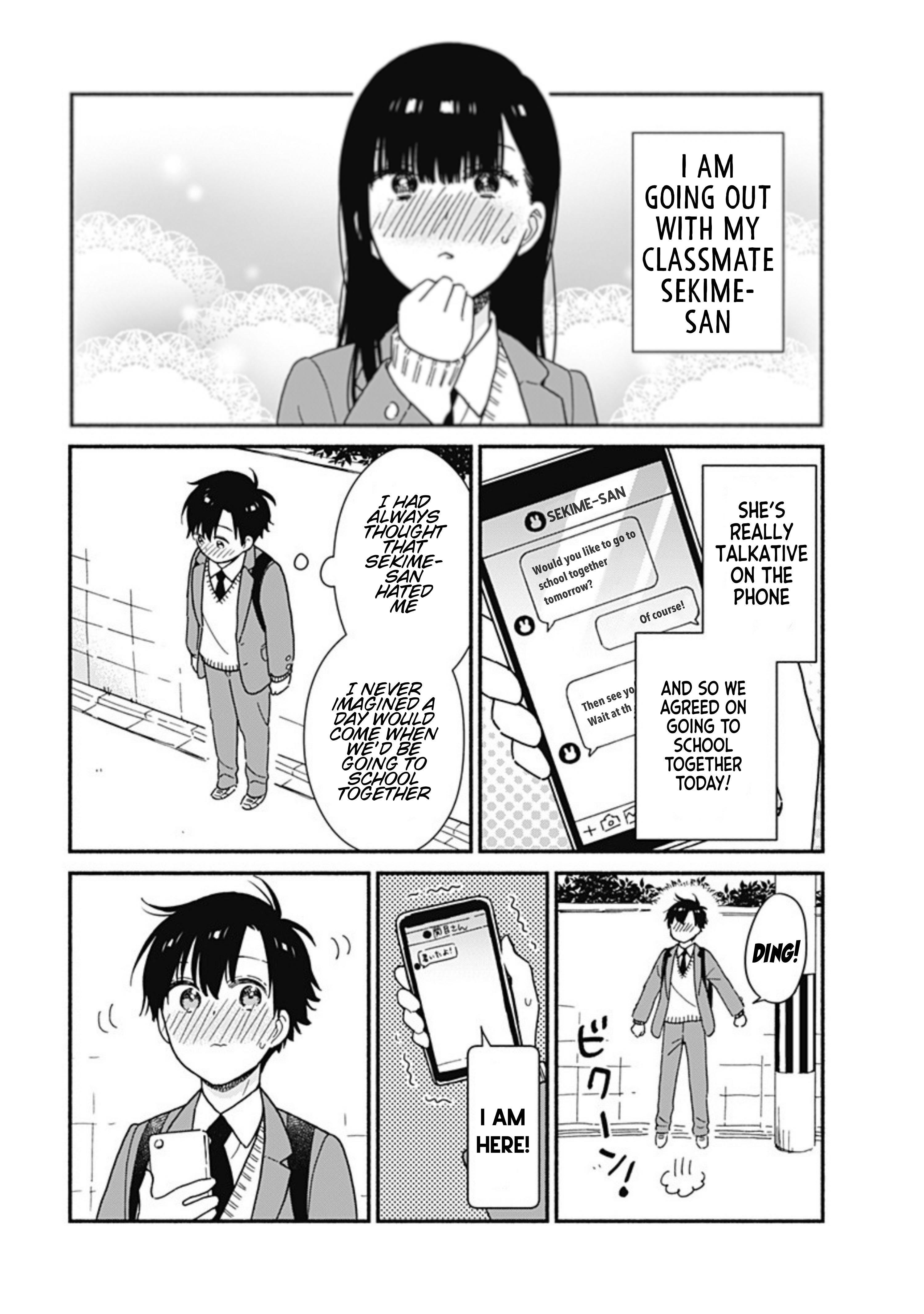 Sekimen Shinaide Sekime-San Chapter 4 page 2 - Mangakakalots.com