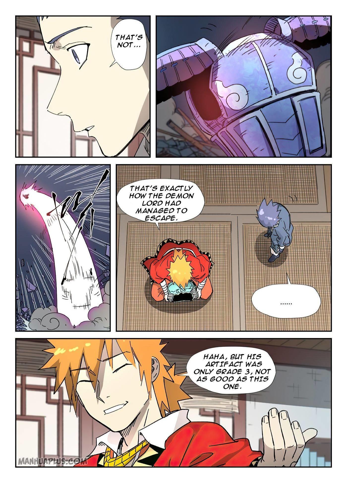 Tales Of Demons And Gods Chapter 331.5 page 5 - Mangakakalots.com