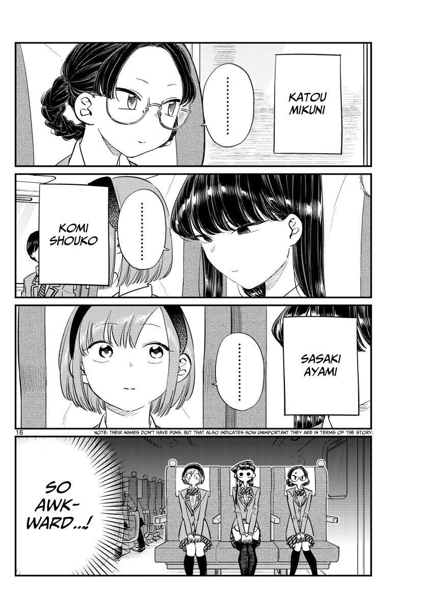 Komi-San Wa Komyushou Desu Vol.8 Chapter 104: The Field Trip page 9 - Mangakakalot