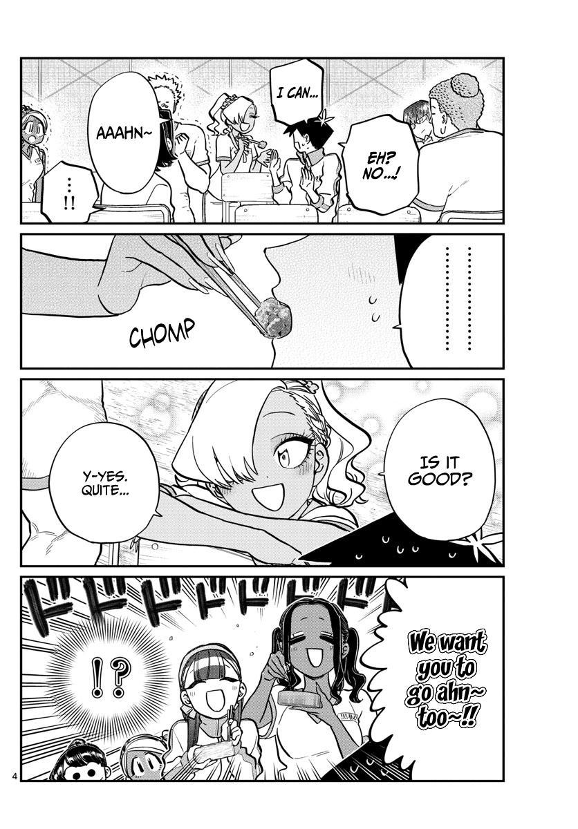 Komi-San Wa Komyushou Desu Chapter 210: Say Ahn~ page 4 - Mangakakalot