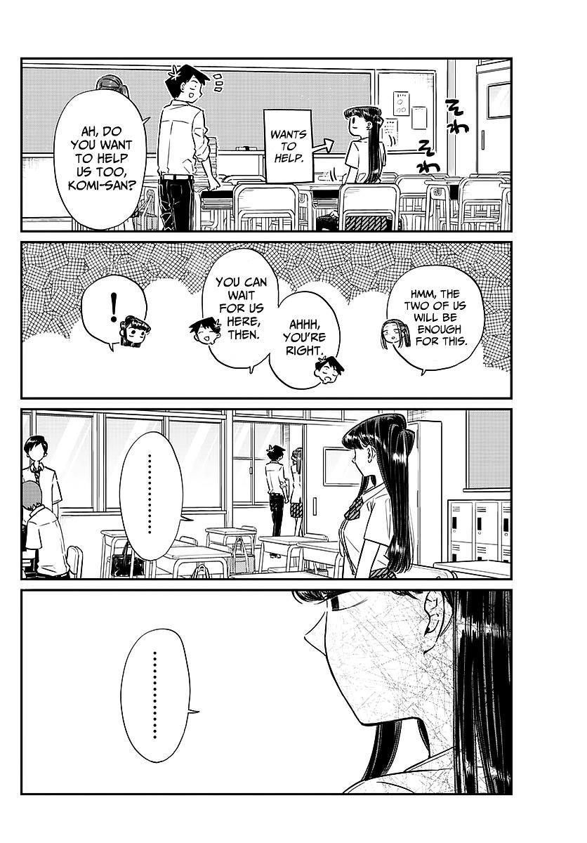 Komi-San Wa Komyushou Desu Vol.5 Chapter 58: A Bit Of An Unpleasant Feeling page 6 - Mangakakalot