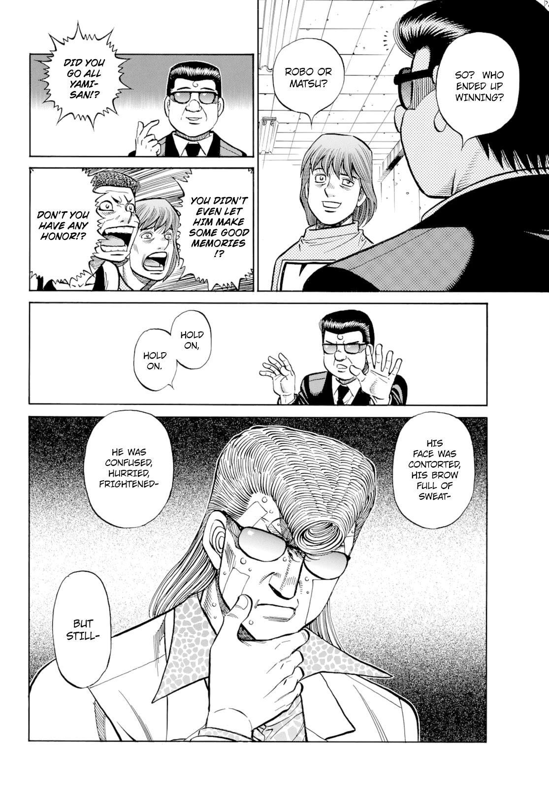 Hajime No Ippo Chapter 1350: Keith's Back page 15 - Mangakakalots.com