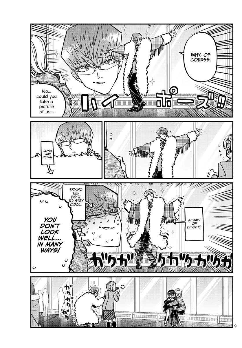 Komi-San Wa Komyushou Desu Chapter 290: Naruse-Kun And Ase-San 2 page 9 - Mangakakalot