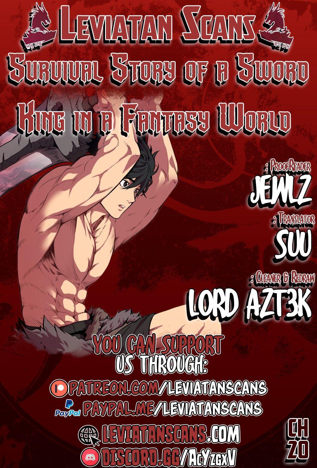 Survival Story Of A Sword King In A Fantasy World Chapter 20 page 1 - Mangakakalots.com
