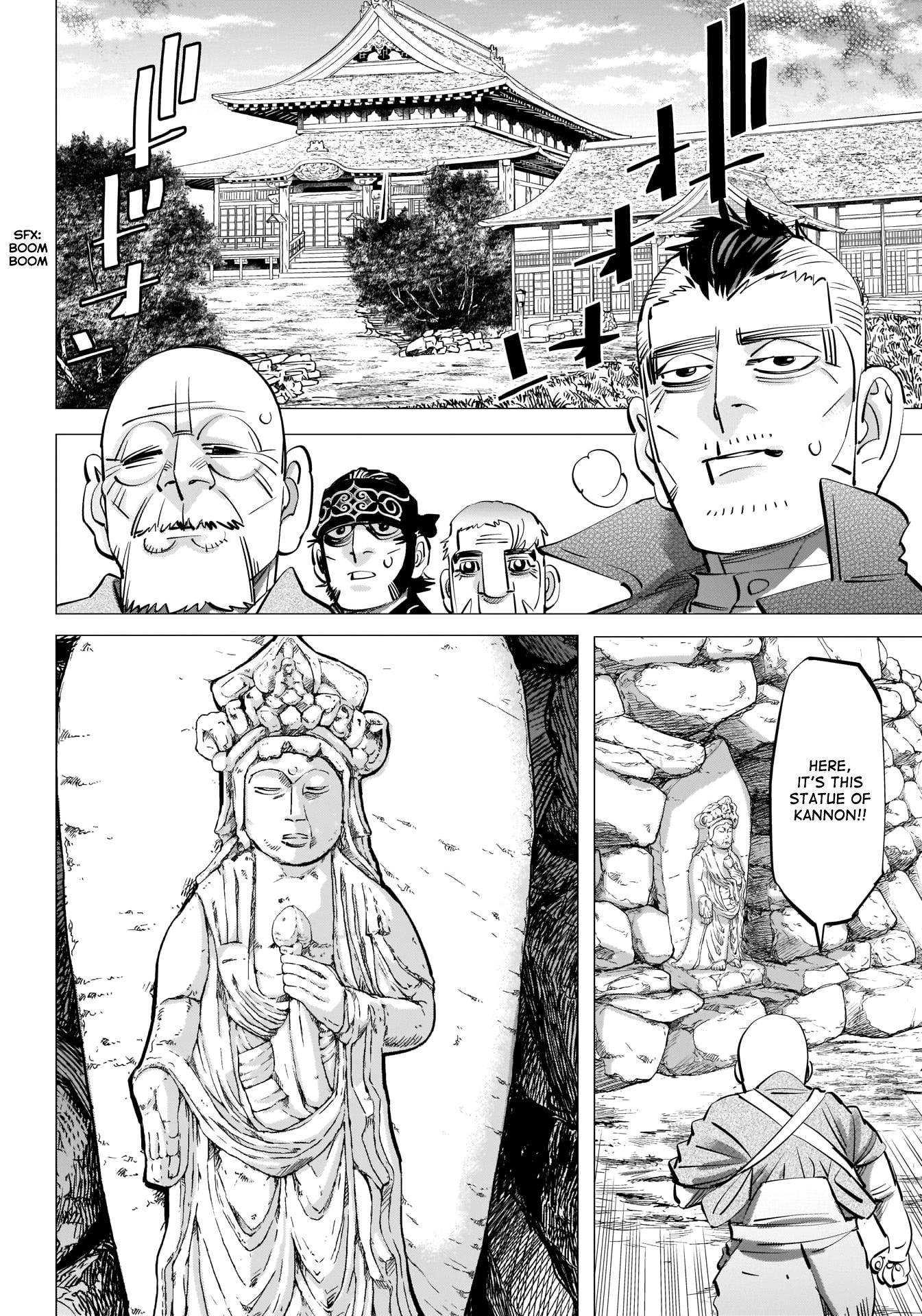 Golden Kamui Chapter 290: The Statue Of Kannon page 17 - Mangakakalots.com