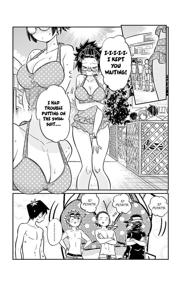 Komi-San Wa Komyushou Desu Vol.3 Chapter 39: Pool page 9 - Mangakakalot